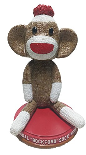 Sock Monkey Limited Edition Bobblehead Individually Numbered - SockMonkey