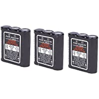 HNN9044 Battery for Motorola Radius SP21 2-Way Radio - 3 Pack - Mighty Max Battery brand product
