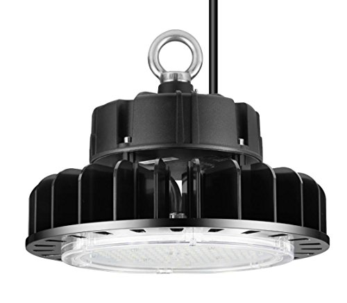ETL Certified LED High Bay UFO Light, Replacement for 800W HID/Hps, 5000K Daylight White, LED Warehouse Lighting with 45 inch Cord (150 Watts)