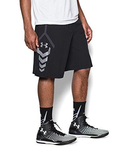 Under Armour Men's SC30 Triple Threat Shorts Small Black
