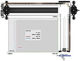 DIY 2 Axis Smart Drawing Robot - Versátil Escritor XY Plotter mano escritura robot Kit - Escritura Robot firma máquina X Y Axis A2(with 500MW): Amazon.es: Oficina y ...