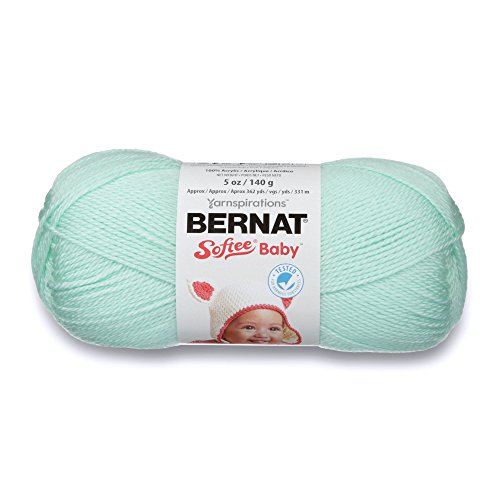 Bernat Softee Baby Yarn, 5 oz, Mint, 1 Ball