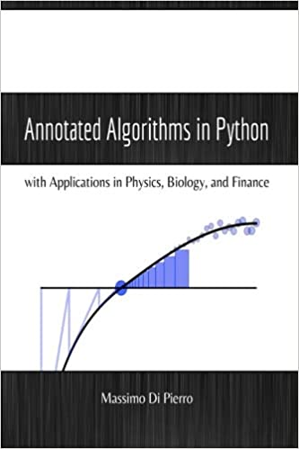 Annotated Algorithms in Python: with Applications in Physics