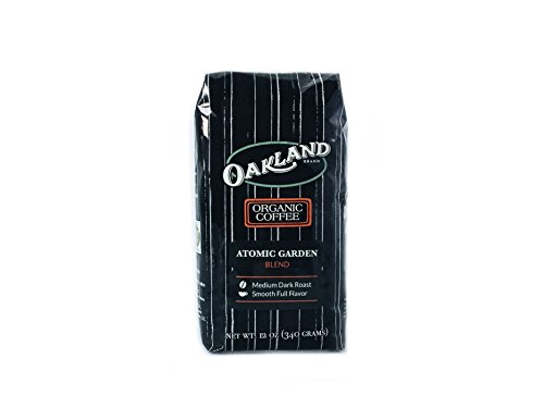 Oakland Coffee Works, Atomic Garden Fuse, 12 Ounce, Whole Bean, USDA Organic