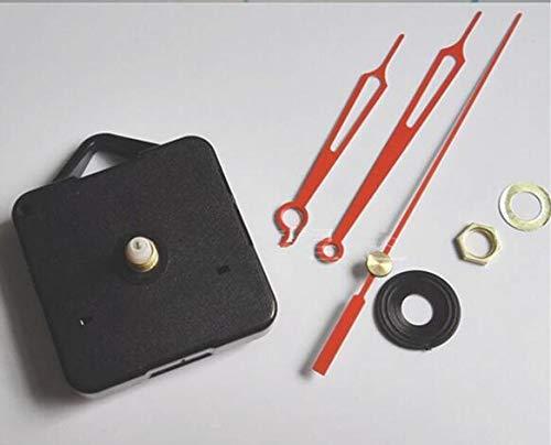 Maslin DHL 100 Pieces Hot Simple Quartz Wall Clock Movement Mechanism DIY Repair Replacing Making a Clock Parts Kit with Gold Hands DIY