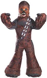 Fantasia Inflavel Rubies Costume Company Inc Star Wars Chewbacca Multicor