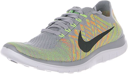 Volt Electric 4 Shoes Wolf Free 0 Men's Green Flyknit Grey Sports Nike Black Pvw5qq