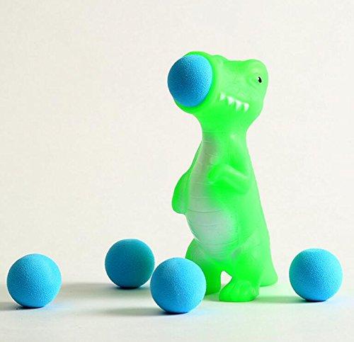 Driverder Kreative Squeeze Dekompression Spit Ball Tier Spielzeug Soft Shell Kinder Spielzeug (Grüner Dinosaurier)