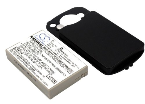 Replacement Battery for CINGULAR 6500 8525 DOPOD 838 Pro 9000 CHT9000 HTC Hermes P4500 TyTn I-Mate JASJAM NTT DOCOMO DoCoMo HTC Z Part NO 35H00060-04M HERM160 HERM161 HERM300 PA16A