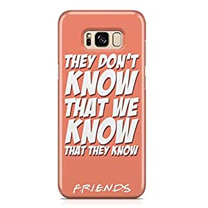 Samsung S8 Case Friends They dont knwo Samsung Samsung S8 Cover Wrap AroundLight weight and tough case
