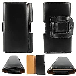 QJM PU Leather Case with Waist Clip for iPhone 6