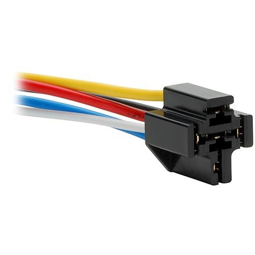 Parts Express 12 VDC 5-Pin Relay Socket (Volt 12 Flashers)