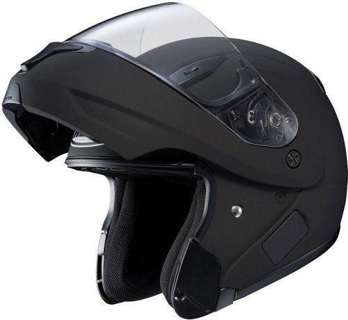 HJC CL-MAX II 2 - Full Face Flip-Up Modular Street Helmet - Solid Matte Black - XL - Max Full Face Modular Helmet