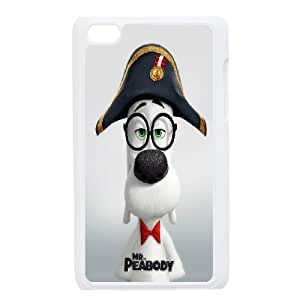 DIY Phone Cover Custom Mr. Peabody & Sherman For Ipod Touch 4 NQ3443589