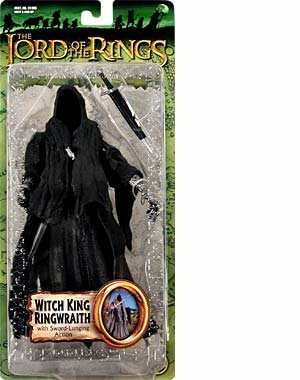 Lord Of The Rings Witch King (Lord of the Rings-Fellowship of the Ring-Witch King Ringwraith action figure w/accessories)