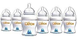 Munchkin Latch BPA-Free Bottle, 6 Count, 8 Ounce