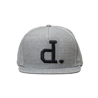 45bcc25cfd835 Diamond Supply Co Un-Polo Snapback Hat Grey Black Skate Skateboard  Amazon. co.uk  Clothing