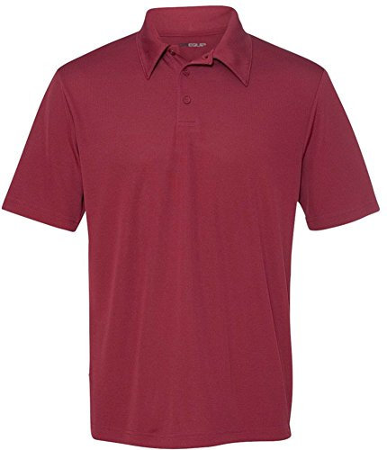 DRI-EQUIP Dry-Wicking 3-Button Mesh Polos