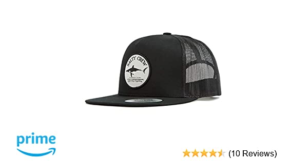 half off 71607 4b549 Salty Crew Men s Bruce Trucker Hat, Black, One Size at Amazon Men s  Clothing store