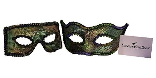 Success Creations USA Lazaro-Soren Mardi Gras Masquerade Couple by Success Creations
