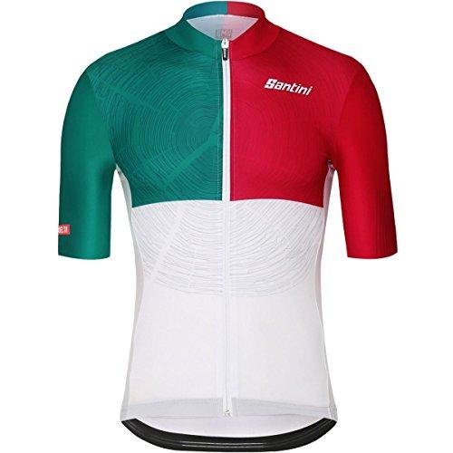 (Santini Euskadi Rider Jersey - Men's One Color, L)