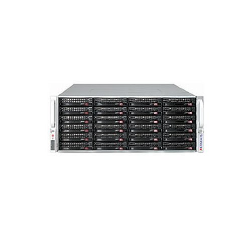 Supermicro SC847 E26-R1400UB CSE-847E26-R1400UB - Rack-mountable - 4U - extended ATX - SATA/SAS - hot-swap - power supply 1400 Watt - black