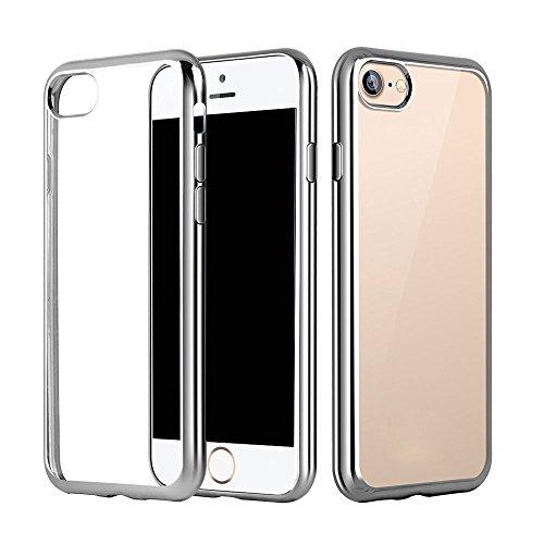Sleek Tech Armor Case for iPhone 6/6s (Silver) - 6