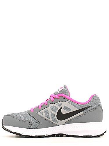 Nike Downshifter 6 (Gs/Ps), Zapatillas de Deporte para Niñas Gris (Gris (Cool Grey / Black-White-Pnk Blst))