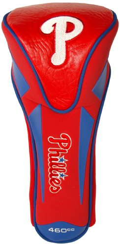 Team Golf MLB Philadelphia Phillies Golf Club Single Apex Driver Headcover, Fits All Oversized Clubs, Truly Sleek Design