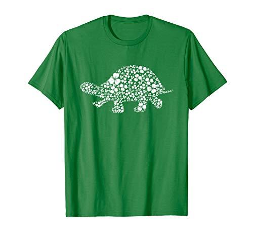 Lucky Shamrock Turtle St. Patrick Day Mama Mom Woman Shirt ()