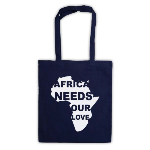 Protest Tote Needs Bag Love Navy Slogan blue Our Africa ZtzHx