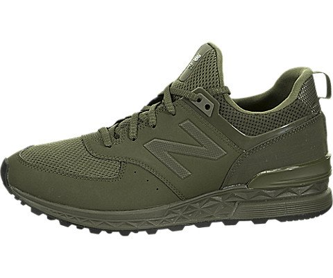 differently 68163 42213 New Balance Men's 574S Sport Sneaker,army olive/green,8.5 D US