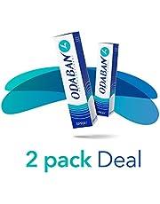 Save on Title: Odaban Antiperspirant Deodorant Spray, Schlafspray mit kompletter Schweiß-Blockierung, 2er Pack (2 x 30 ml) and more