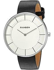 Skagen  Womens  SKW2611 Gitte Black Leather Watch