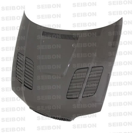 M3 Gtr Hood (SEIBON 01-05 BMW M3 Carbon Fiber Hood GTR E46 02/03/04)