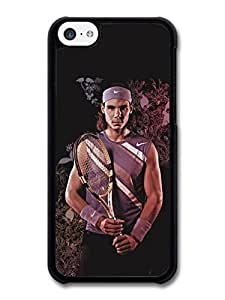 diy phone caseRafa Nadal Flowers Portrait Tennis Player case for ipod touch 4diy phone case