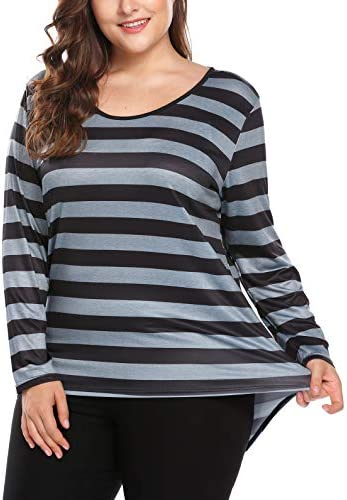 Daily Ritual Women's Plus Size Jersey Short Sleeve Scoop