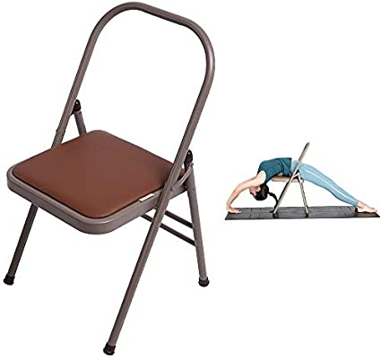 Amazon.com: HMJY Yoga Chaise Lounge, Yoga Chair Back Bender ...