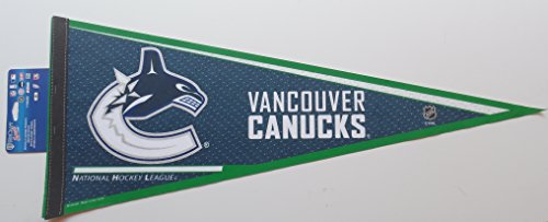 - NHL Vancouver Canucks Standard size pennant, made by Wincraft sports
