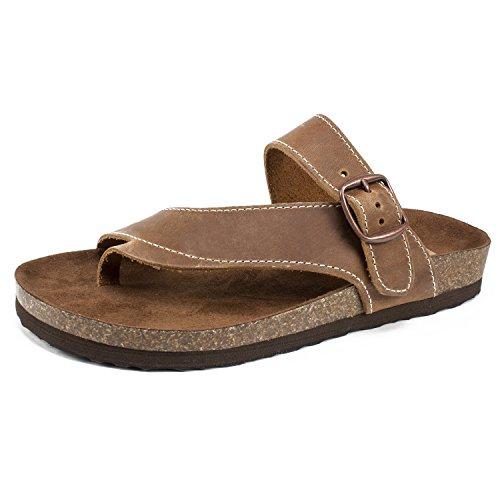 White Mountain Shoes Carly Women's Sandal, Whiskey, 10 M (Shoes Women White Mountain)