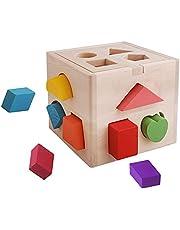 Beifeng Educatieve Block Box Dertien Hole Intelligence Box Hands-on Leren Vorm Sorteerder Bijpassende Speelgoed voor Kids Boy Girl