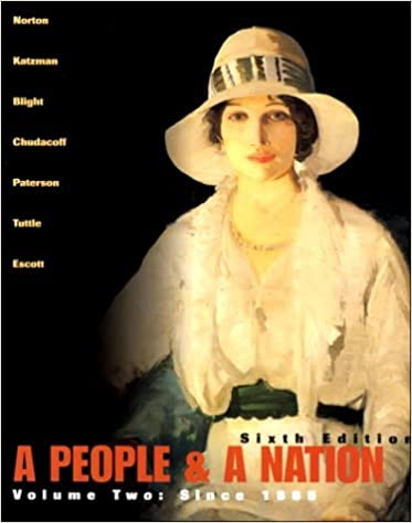 Book A People and a Nation: A History of the United States (Volume II, Since 1865) by Mary Beth Norton (2000-07-31)