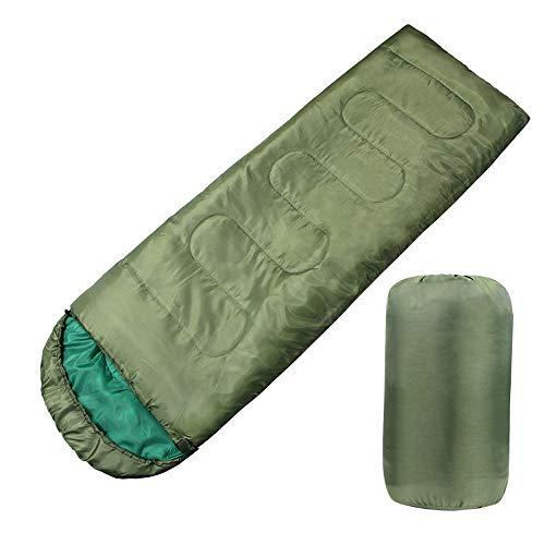 Lixada Schlafsack Deckenschlafsack Leichter 4 Jahreszeiten Trekkingschlafsack mit Warmem Umschlag für Wandern Camping…