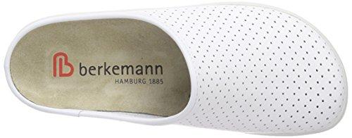 BerkemannTec-Pro Thordu - Zuecos Unisex adulto Blanco - blanco