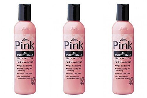 Luster's Pink Oil Moisturizer Hair Lotion 2 Oz Travel Size (Pack of 3)