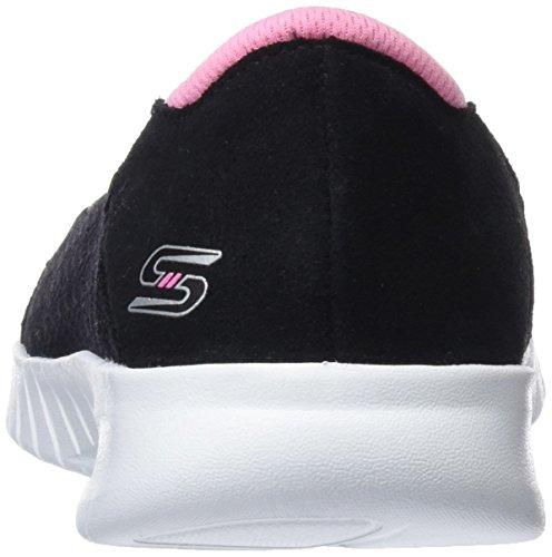 Wave Schwarz Don't It Damen Mention Sneaker lite Skechers Pink Black 6540wXq0