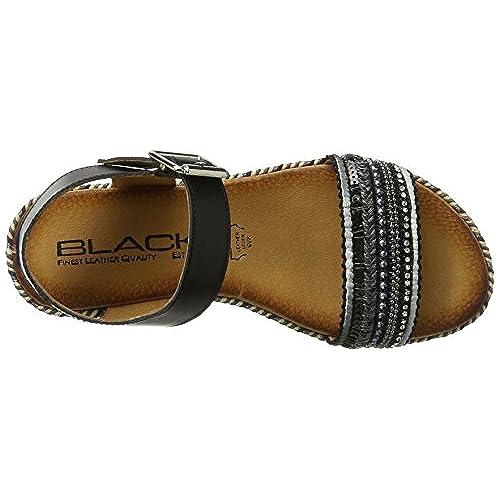 outlet BLACK 282 193, Sandales Bout ouvert femme