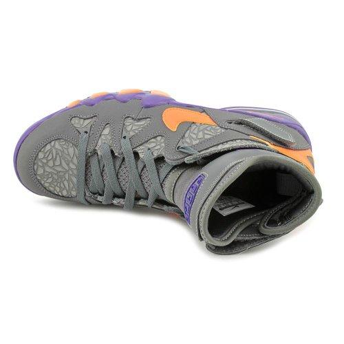 Nike Air Max 2 Nero Forte 555104-010 Grigio Scuro / Arancione Elettrico Corte Viola