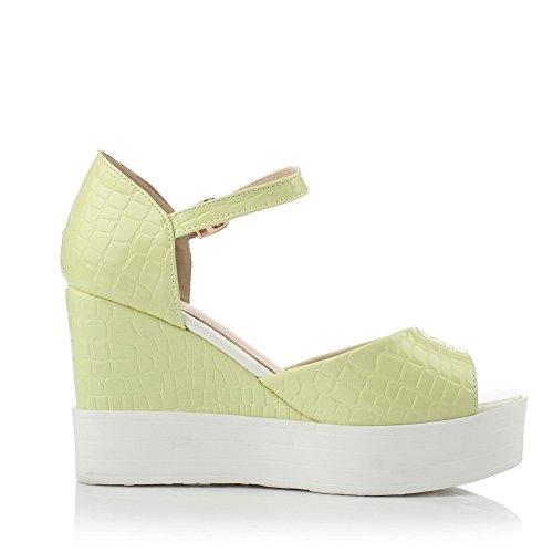 para vestir mujer Adee Verde de Sandalias YpqCxntwOT