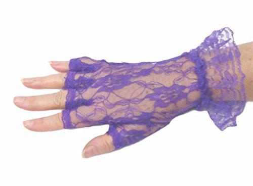 レースLuxe手首長half-finger手袋